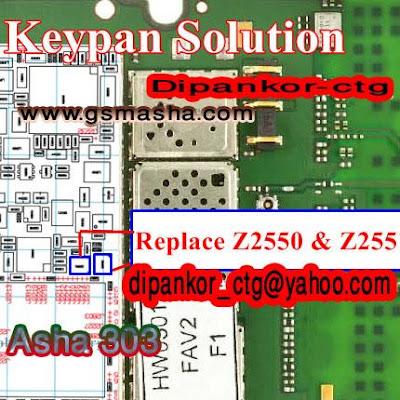 Nokia Asha 303 Keypad Repair