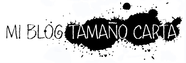 MI BLOG TAMAO CARTA