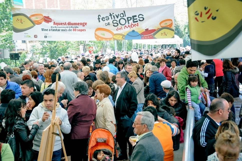 Foto del festival de sopas Nou Barris