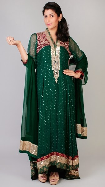 Heavy Embroidered Formal Dress