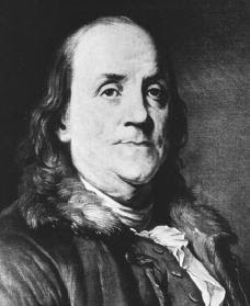 Ben Franklin - born January 17, 1706
