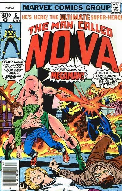 Nova #8, Megaman