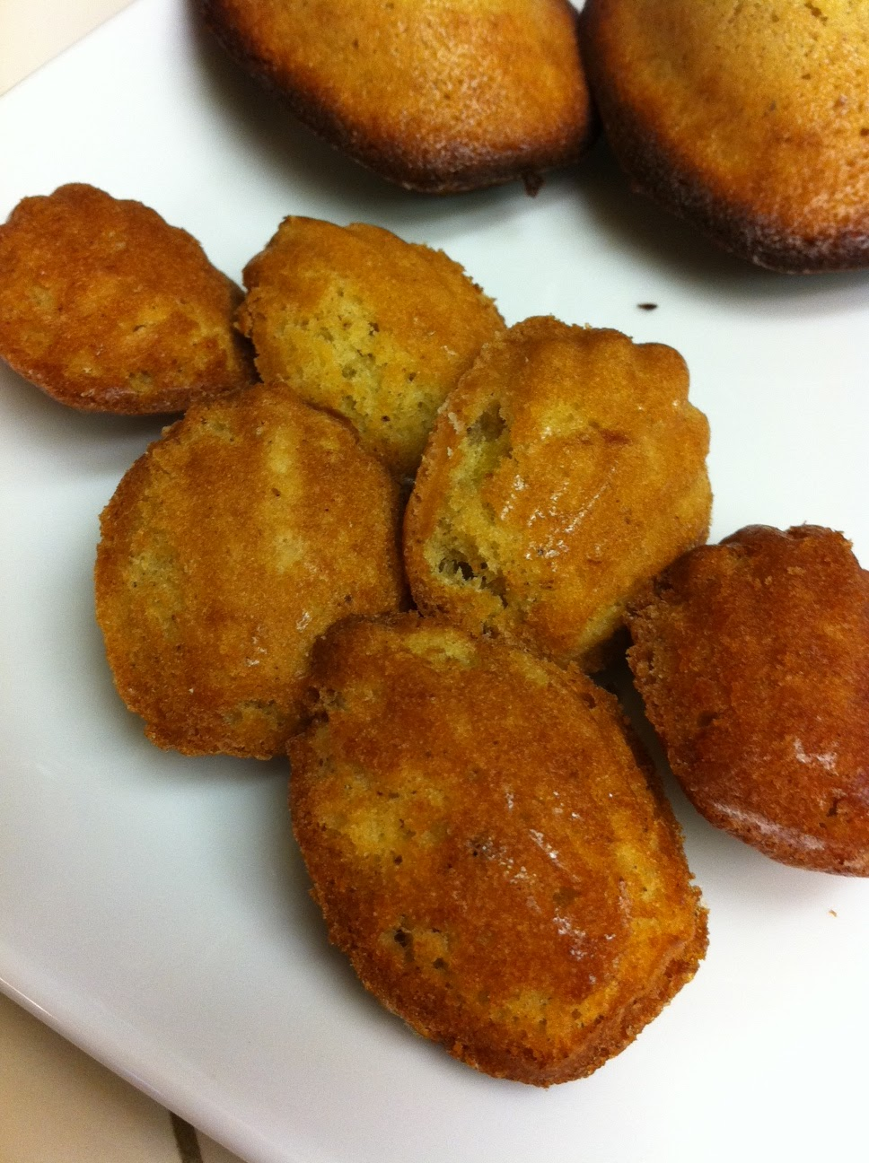 ... off the Cliff: french fridays with dorie - honey-spiced madeleines
