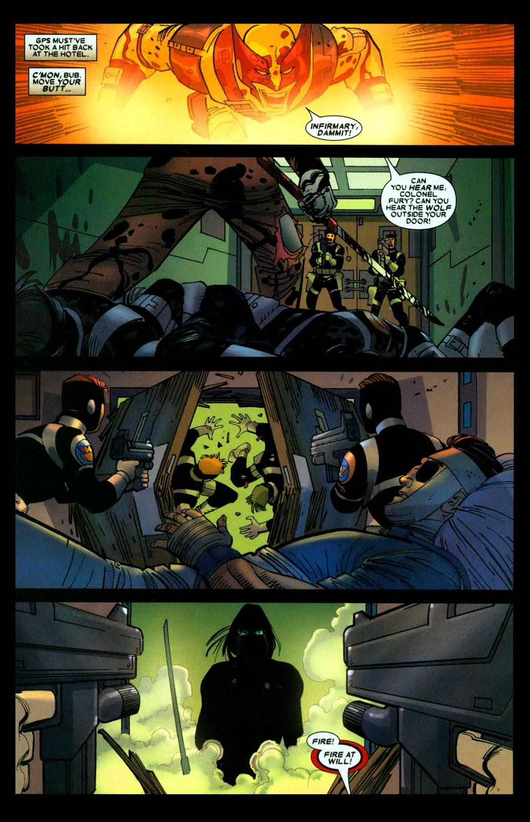 Read online Wolverine (2003) comic -  Issue #31 - 7