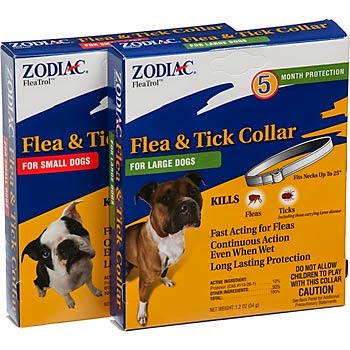 Zodiac Cat & Dog Flea Collar (Sandoz Agro. Inc).