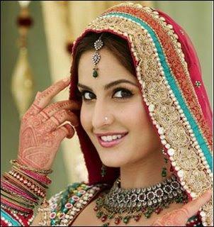 Katrina kaif Looking Gorgeous in Red Bridal
