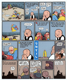 Superman by Chris Ware