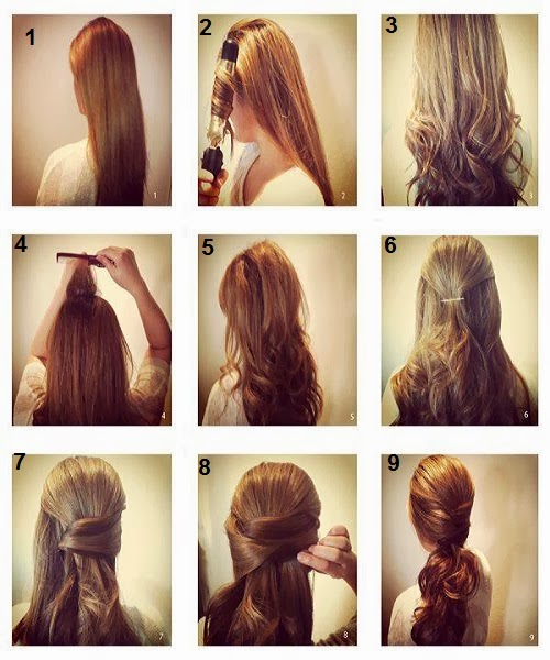 New Best Quick And Simple Hair Style Pics Tutorial Part 2 Pak Fashion
