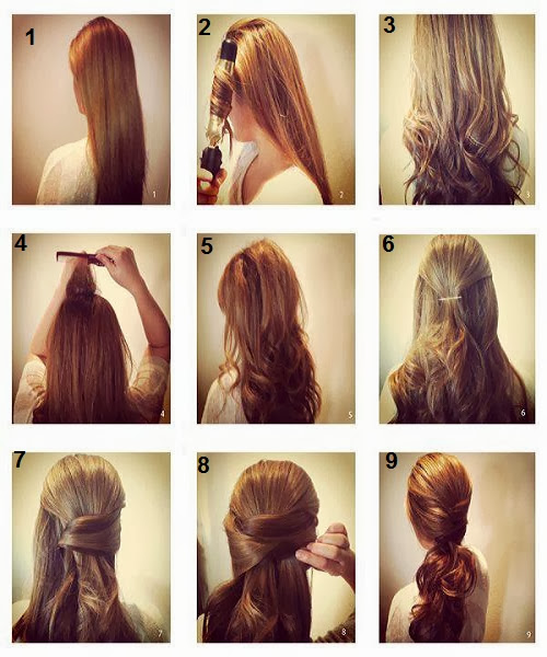 quick and simple hair