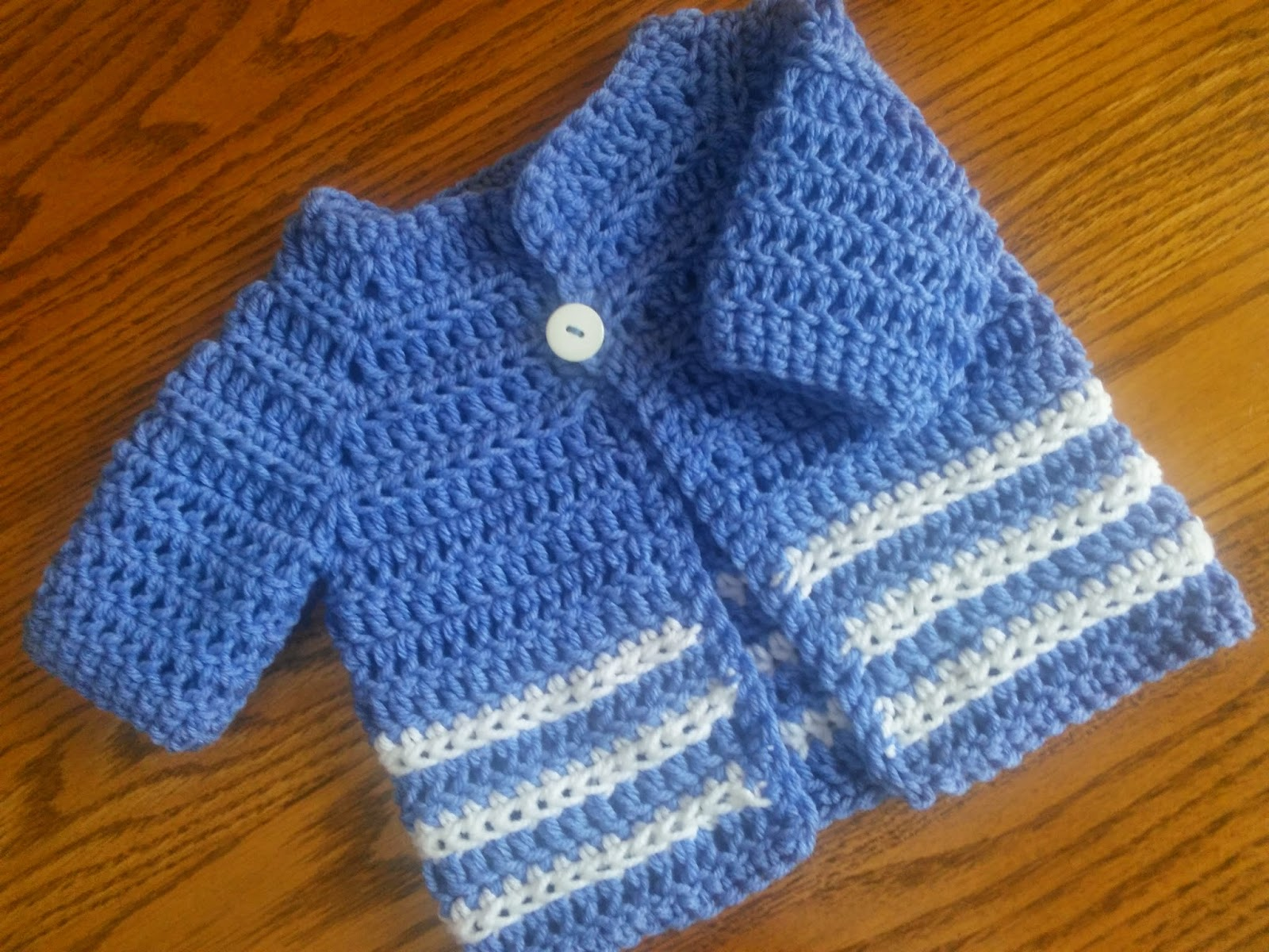 Free Crochet Patterns Pullover Sweater : Craft Brag: Baby Boy Crochet Sweater - Pattern