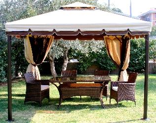 Garden design un giardino perfetto be soft on your sofa - Gazebo da giardino leroy merlin ...