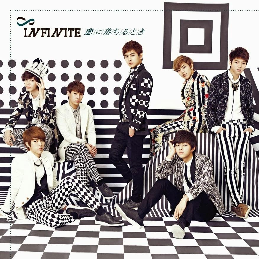 [Album] Infinite – Koi Ni Ochiru Toki [FLAC & DVD]
