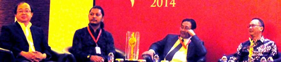 Bing Deloitte - Robby Ertanto - Kemal Atmojo - Armein Firmansyah di Press Conference FFI 2014 JW Luwansa