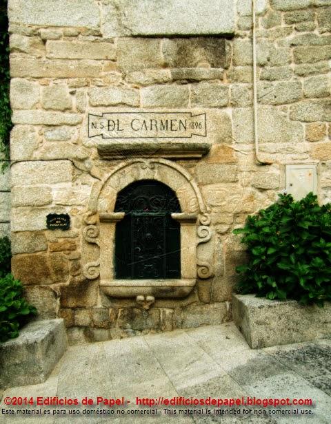 Capilla a la Virgen del Carmen