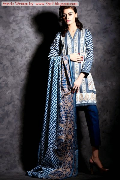 Khaadi Cambric 2014 Vol-2 Catalog