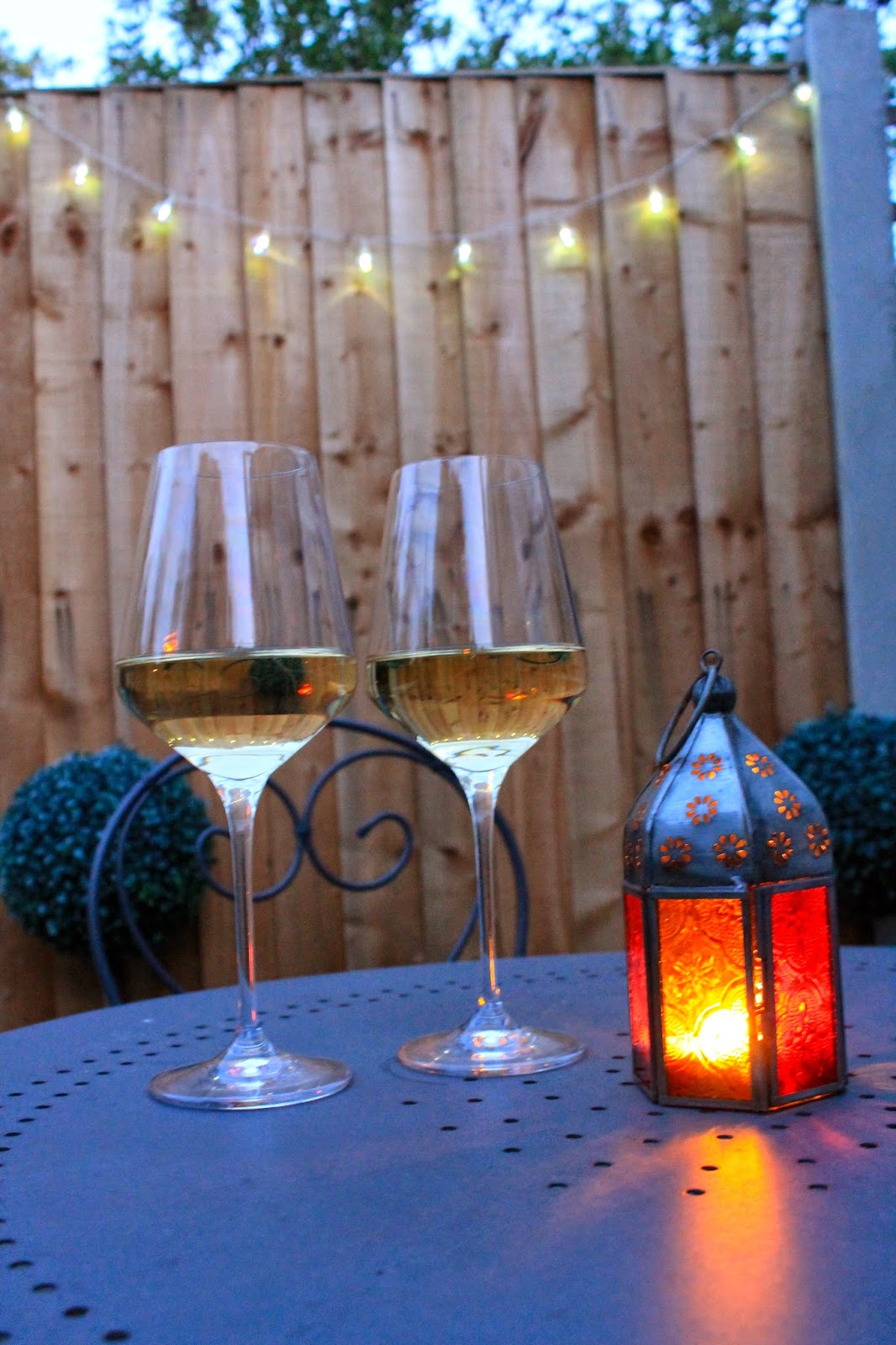 Garden, Bank Holiday, HomeSense, Wine Glasses,