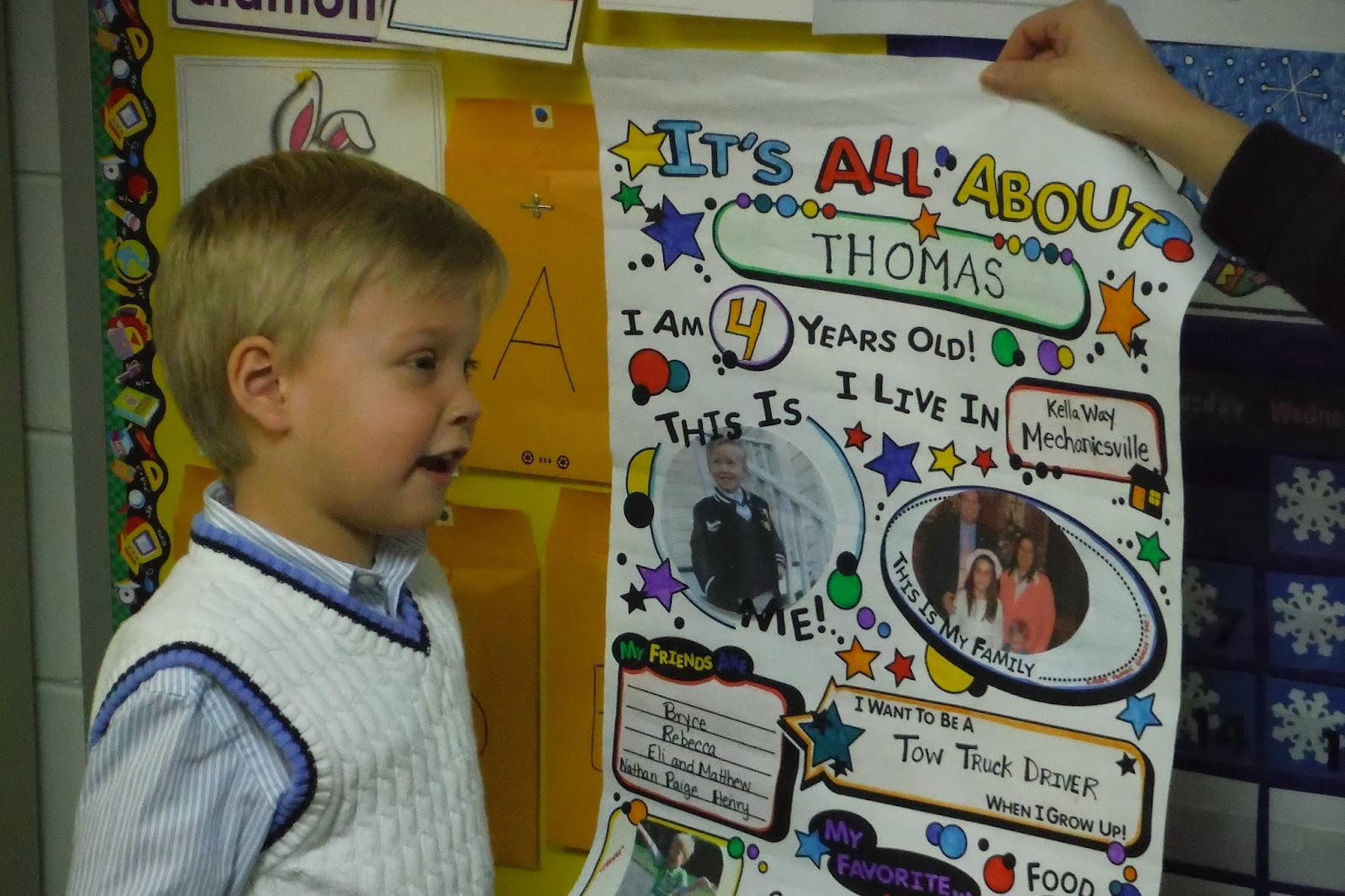 All About Gracie: Pictures From Preschool