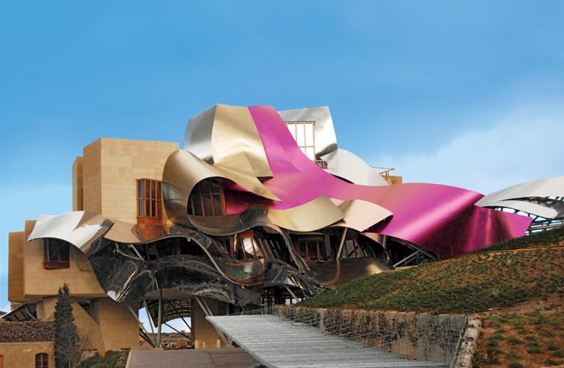 M nica diago arquitectura arquitectura y vino en la rioja for Hotel el ciego marques de riscal