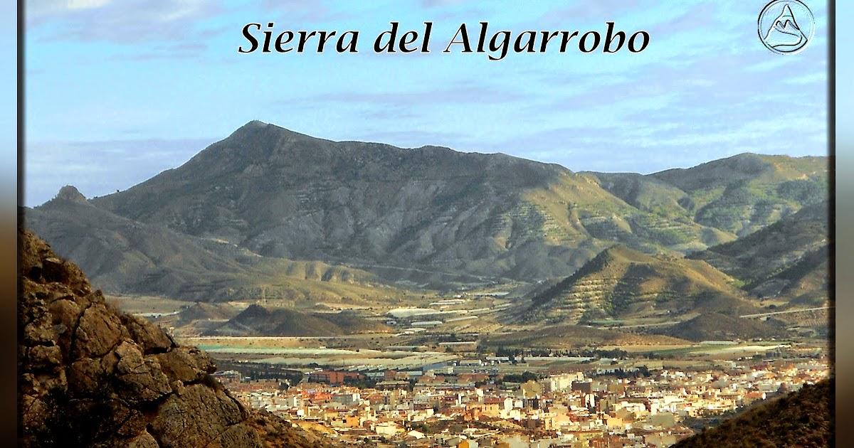 Monta as de cartagena senderismo algarrobo for Centro del algarrobo
