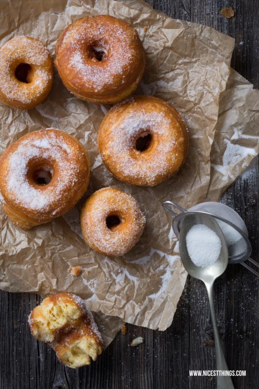 Cronut Rezept aus fertigem Croissantteig Cronuts selber machen #cronut #cronuts #donuts