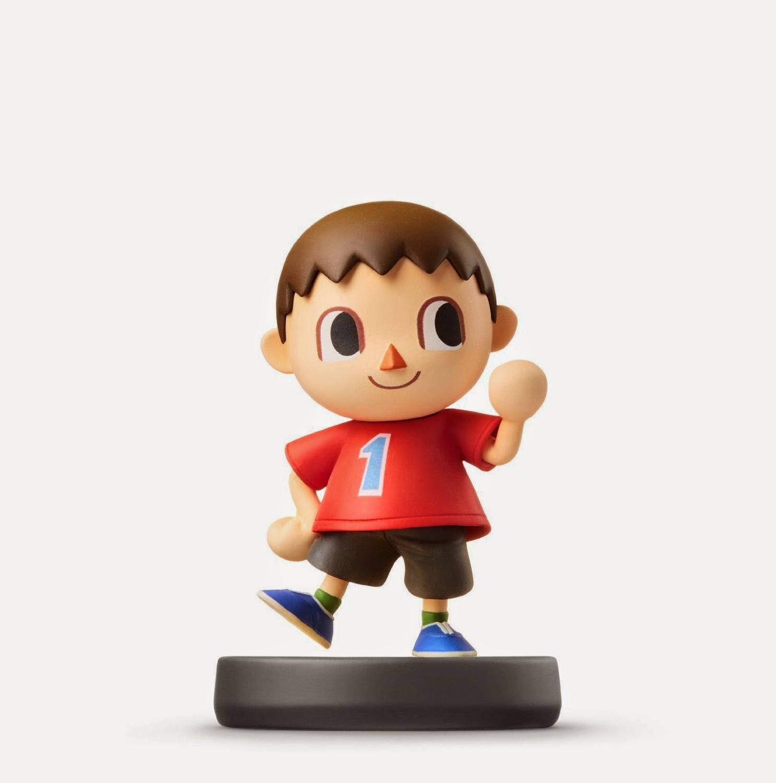 JUGUETES - NINTENDO Amiibo - 9 : Figura Aldeano : Villager   (28 noviembre 2014) | Videojuegos | Muñeco | Super Smash Bros Collection  Plataforma: Wii U