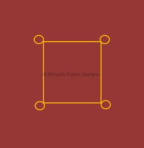 2 Navagraha Kolam | Chandra Bhagavan | Monday