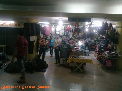 Lacson Underpass underground stores