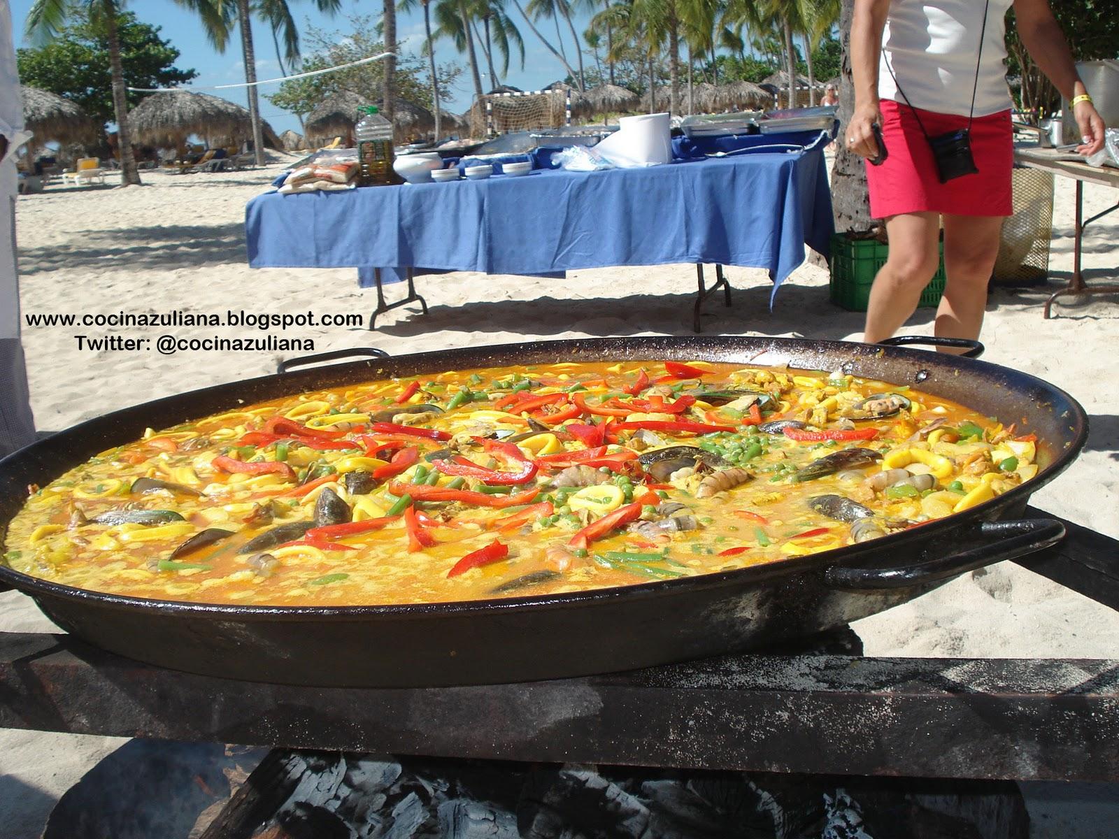 Paella en rep blica dominicana cocina zuliana for Cocina dominicana