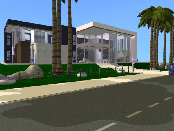 The sims 2 the sims 2 casa moderna 20 for Casas modernas the sims 4
