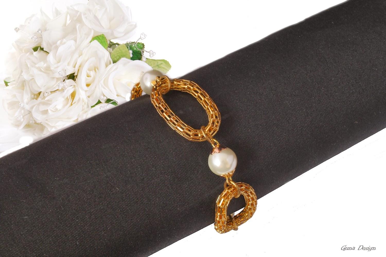 gunadesign guna andersone Golden chain bracelet