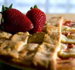 http://www.food.com/slideshow/fresh-strawberry-recipes-39/rhubarb-pie-5