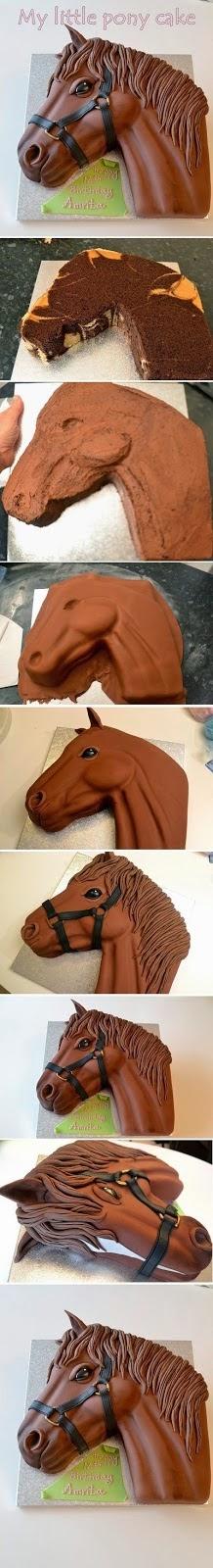 como fazer bolo cavalo sitio pasta americana