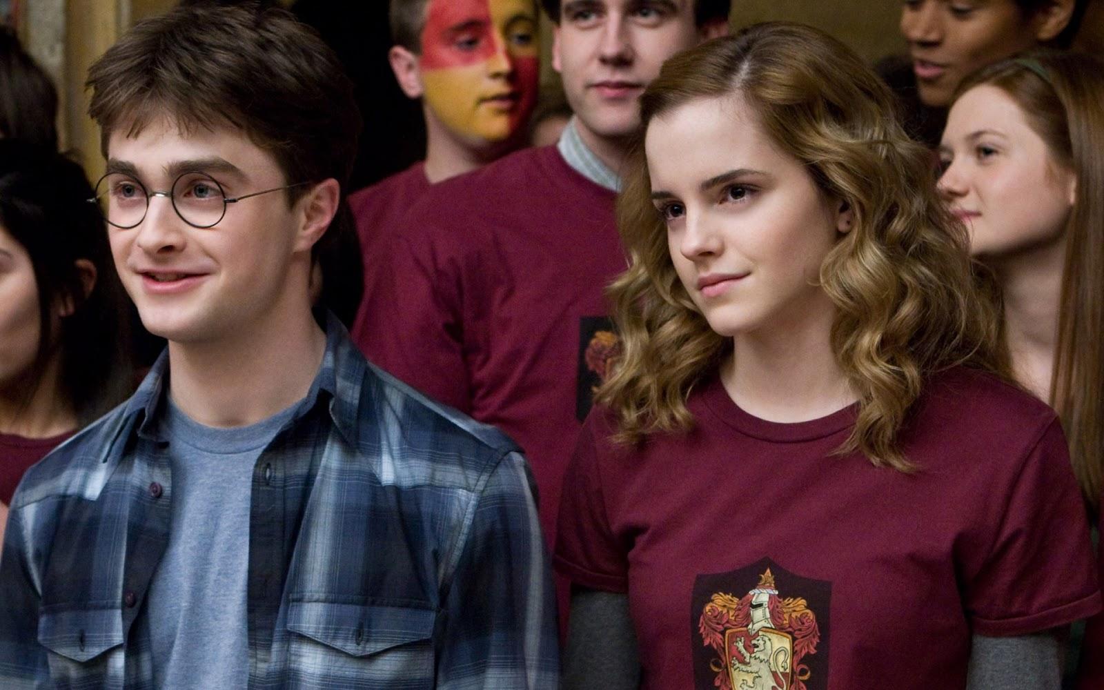 Emma Watson Daniel Radcliffe Harry Potter Movie