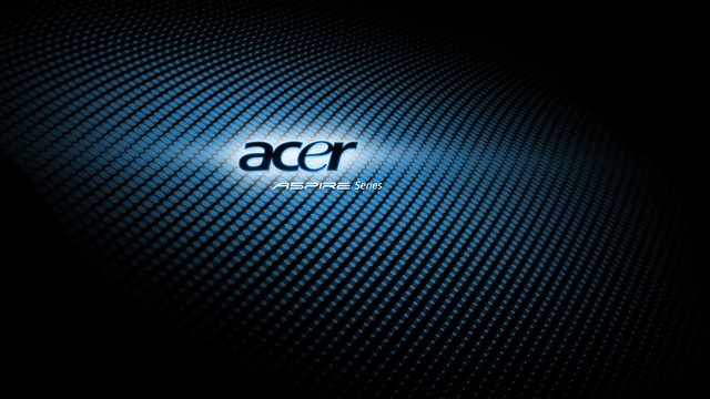 Check This Wallpaper: Acer Aspire Carbon Dark Style Wallpaper