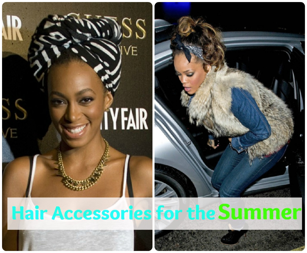 How to rock stylish hair accessories this summer