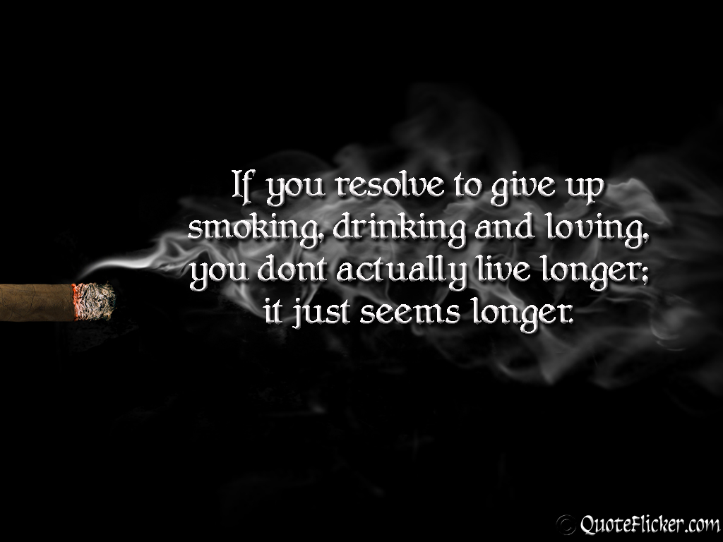 Quotes About Smoking Quotes Collection
