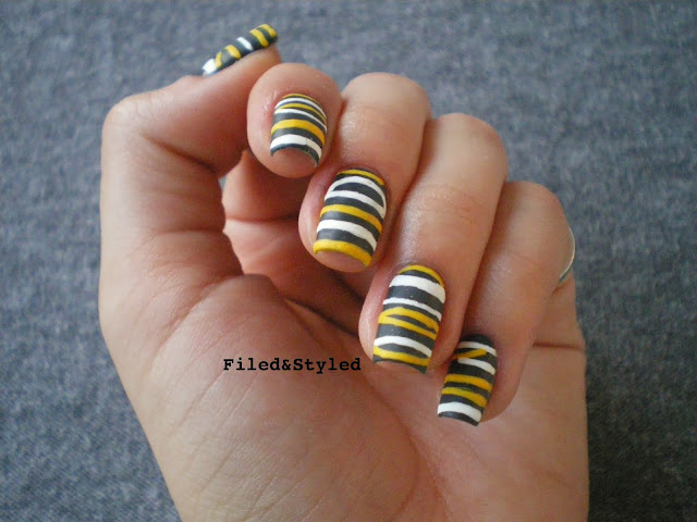 Caterpillar Nails