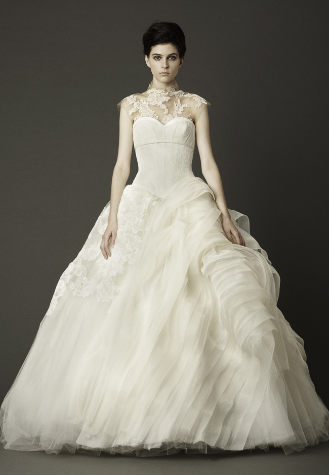 Robe de mariee princesse vera wang