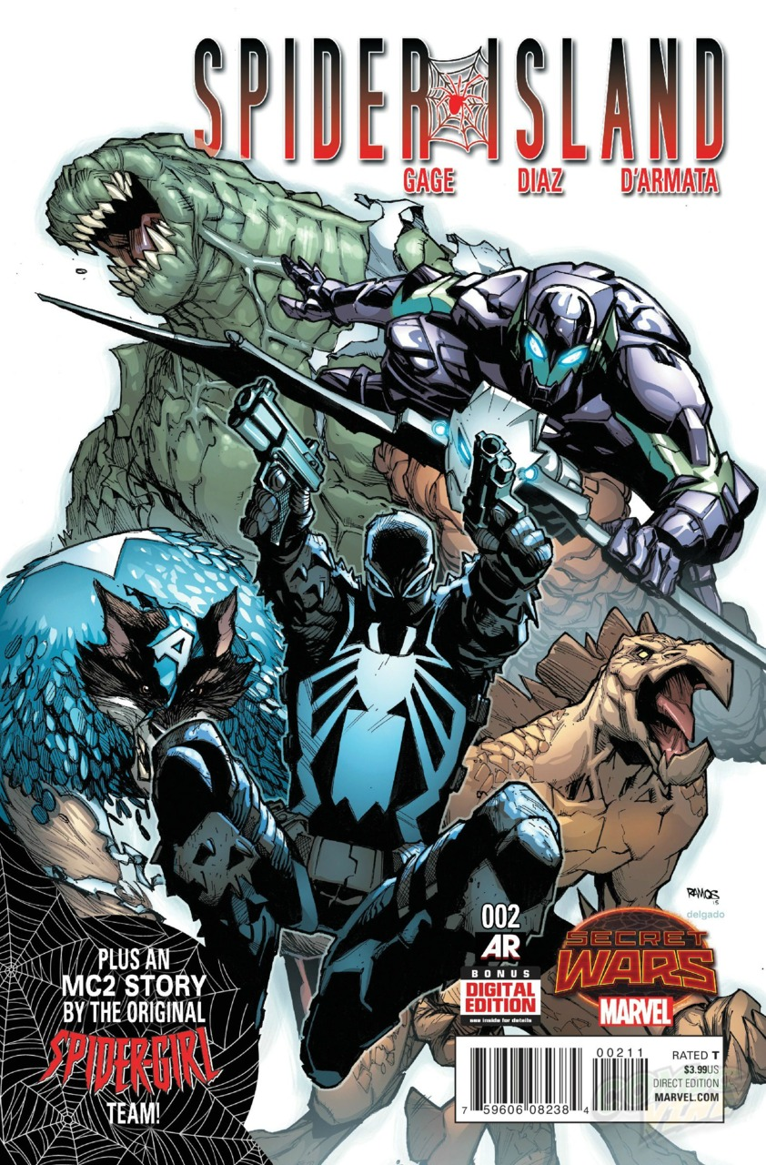 SECRET WARS SPIDER ISLAND#02