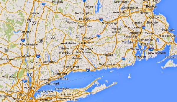 connecticut_earthquake_toay_epicenter_map
