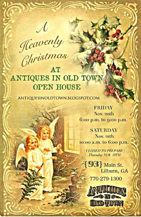 Christmas Open House Nov 20 - 21