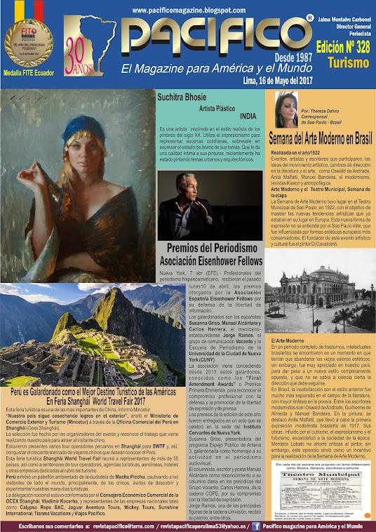 Revista Pacifico Nº 328 Turismo