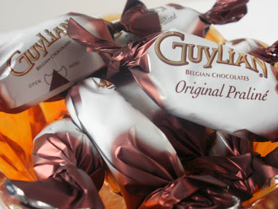 Guylian Original Praline Chocolate Truffles, Individually Wrapped Truffles, Single Chocolate Truffles