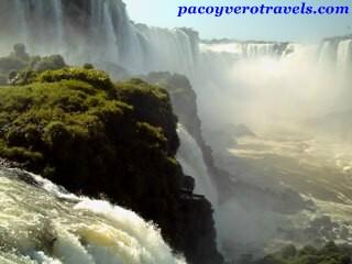 Cataratas de Iguazu desde Brasil