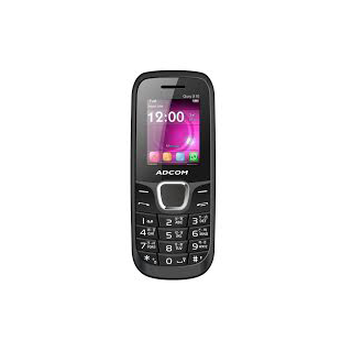 Buy ADCOM X10 Dual Sim Mobile Rs.565 with Whatsapp & Facebook Black at Paytm:buytoearn