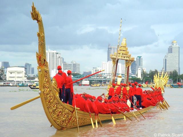 Barge royale à Bangkok