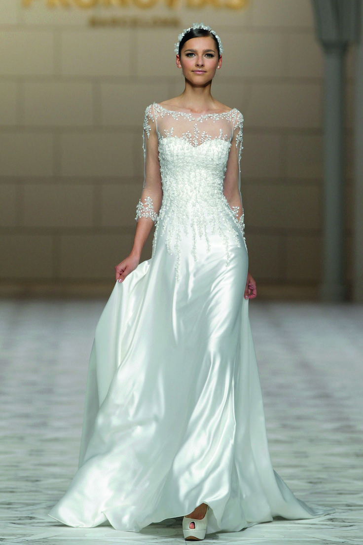 wedding dresses cold climates: Wedding Dresses With Sleeves 2015