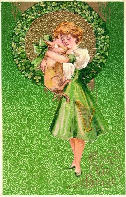 18 Beautiful Vintage St Patrick S Day Postcards Vintage
