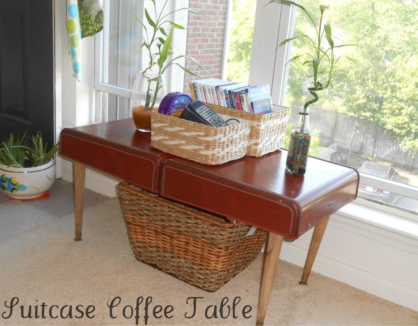 Beyond the Cookie Cutter Suitcase Coffee Table