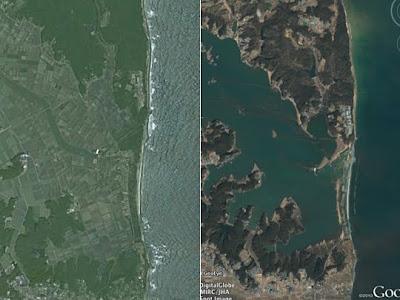 japan tsunami 2011 wave. +earth+japan+tsunami+2011